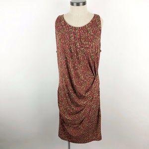 Michael Michael Kors Sleeveless Animal Print Dress